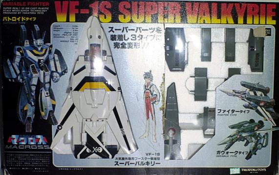 "MACROSS ""Valkyries"" (Bandai, Hasbro...) 198? Super_vf-1s"