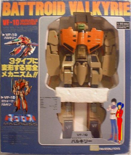"MACROSS ""Valkyries"" (Bandai, Hasbro...) 198? Taka_vf1d"