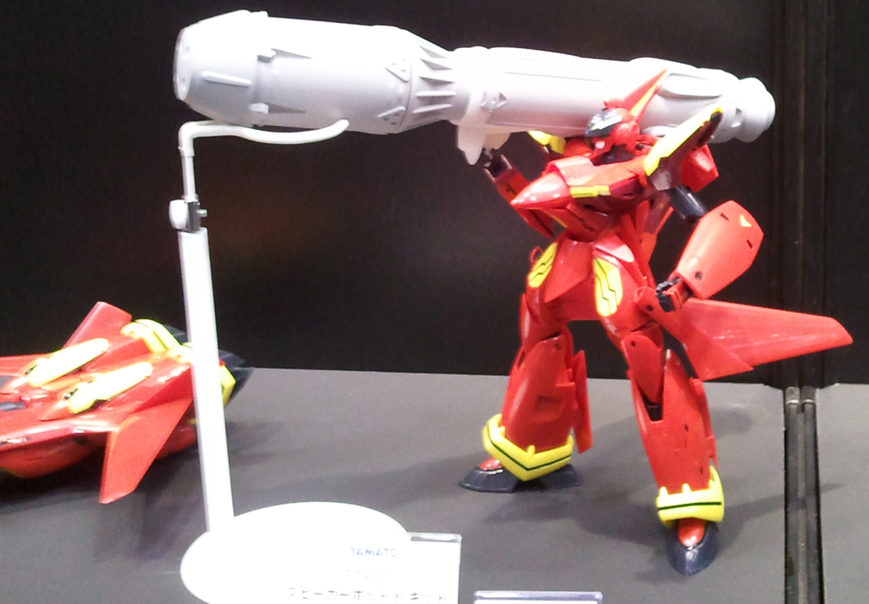 Macross 7 Sound Force Gun Pod Gamma at WonderFest