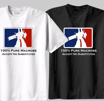 100 Macross shirts