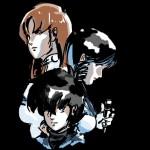 macross trio black shirt