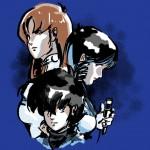macross trio royal blue shirt