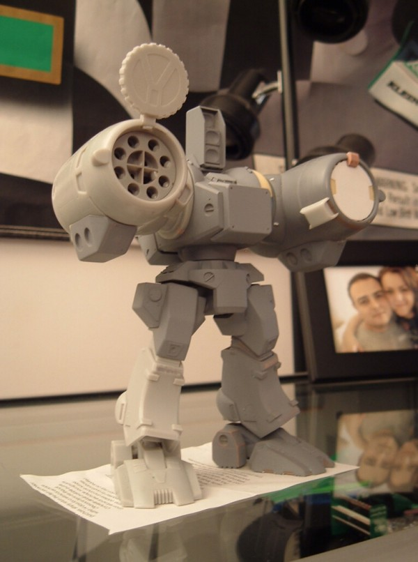 1/72 Destroid Phalanx In Progress