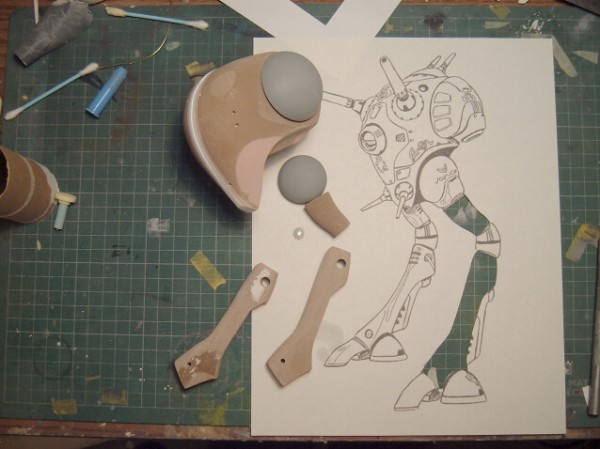 1/72 Zentradi Reguld In Progress