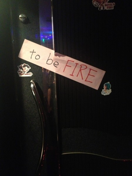 FIRE…..bomBAR!