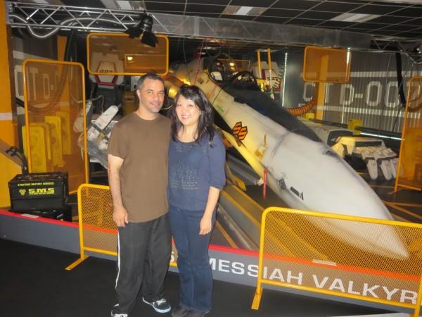 Jason & Cheryl - visiting Japans important cultural sites.