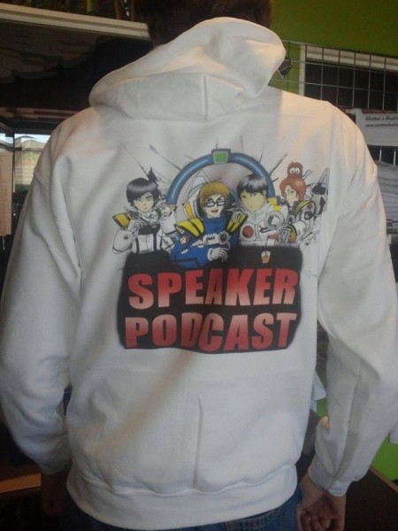 A big shoutout to Kyle who helped us design these deculturific SpeakerPODcast hoodies just in time for MWC!