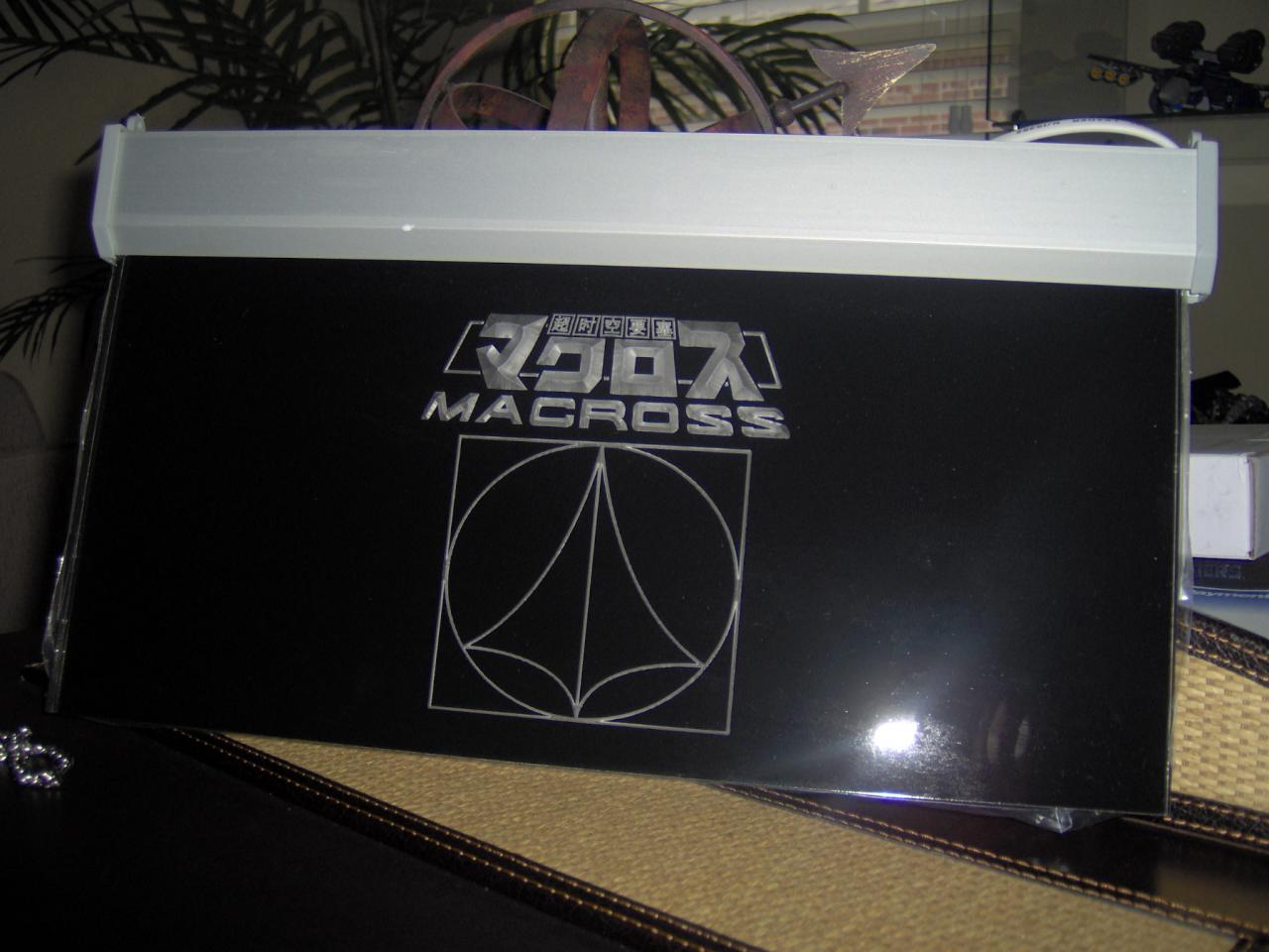 Custom Macross Sign