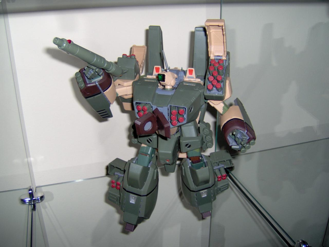 Armored VF-1A Low Visibility Version 2 Woodland Color