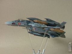 Yamato 1/60 VF-0A with Ghost booster in fighter mode