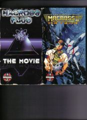 Macross Plus & Macross 2 movies cover A