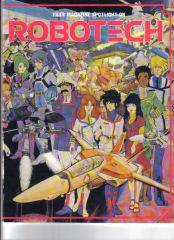 Very rare Robotech magazine