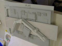 mslz22 Macross Factory Diorama kit...