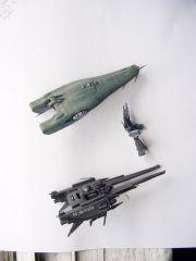 Meltrandi ship & SDF-1 DYRL