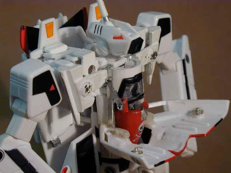 Non-Removeable Heatshield custom Hikaru VF-1A