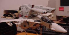 Custom 1/48 Alaska Base VF-1J aka Storm Shadow