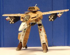 Weathered VF-1A Cannon Fodder