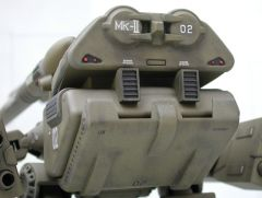ARII 1/160 Destroid Monster with custom hip joint assembly