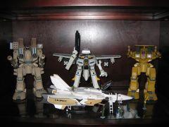 Yamato Destroids, Toynami Ben and Roy 1S