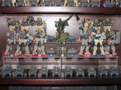 MSIA Gundam 08th MS Team RX-79[G] Ground Gundams and type 61