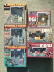 Operator 7G's toys