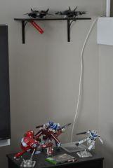 My Customs Shelf & M&M Tribute/Game Console Stand Area