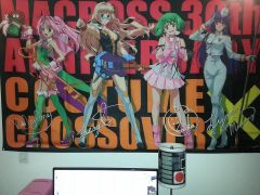 Macross 30th costume crossover banner