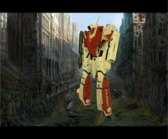 VF 1A In ruined city