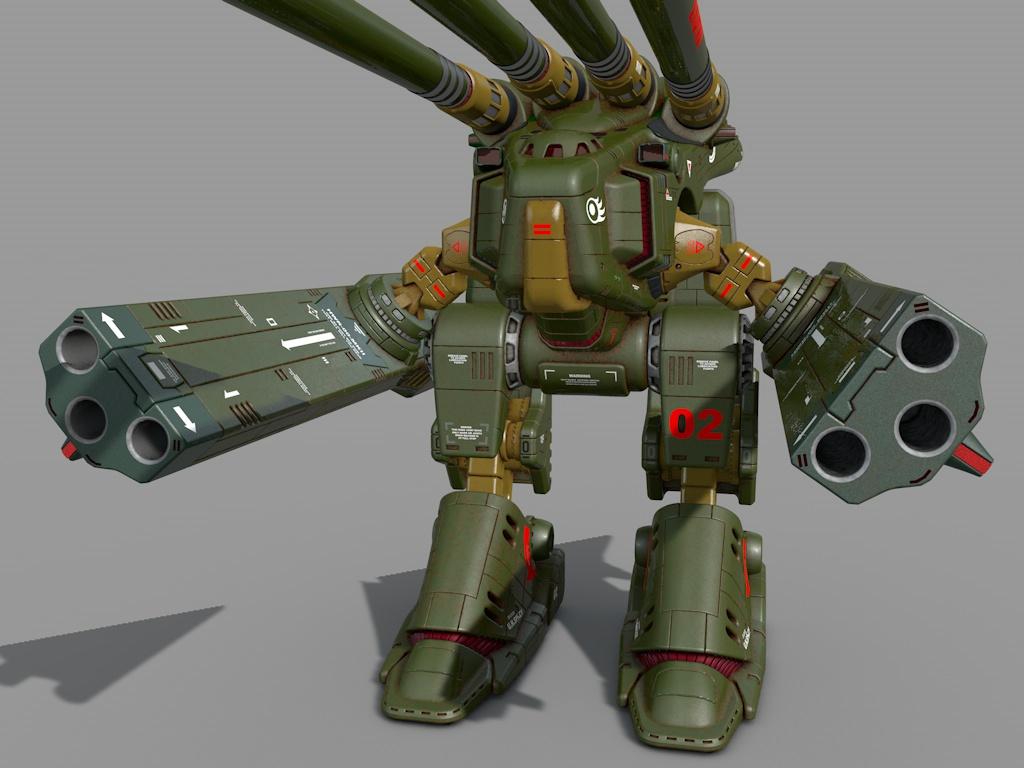 HWR-00-MKII  Macross Monster standard colours 1