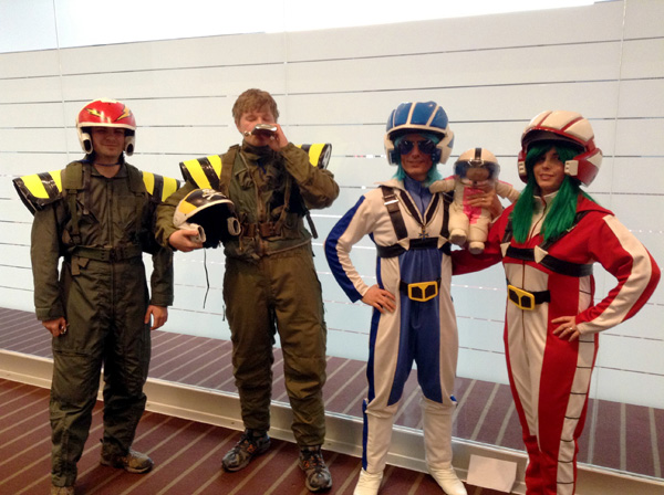 Macross at Tekkoshocon X-2