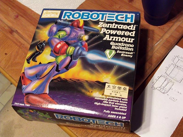 Robotech toy Nosjadeul-Ger Box