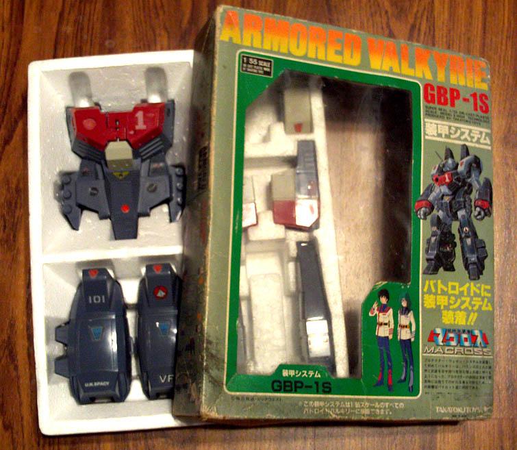 Takatoku Armored Valkyrie 1/55 Armor Set