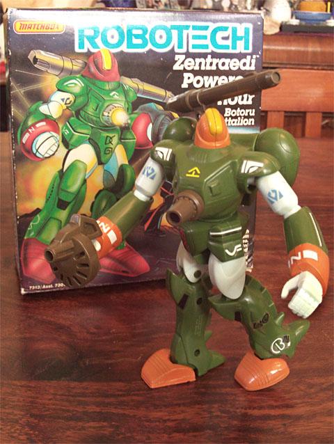 Robotech Botoru Armor