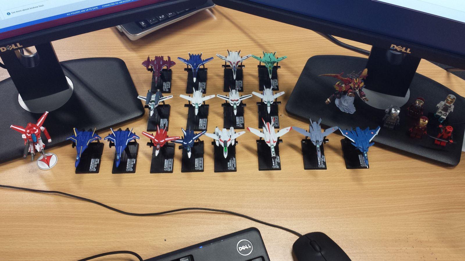 Work Desktop Fighter Squadron