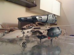 VF-1S with Super Strike Parts Roy Focker scale 1/48