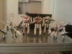 Group Battroid and Gerwalk scale 1/48