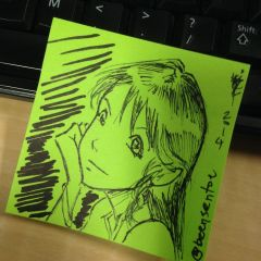 Minmay post-it