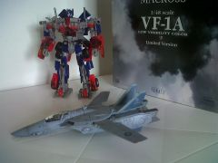 VF - 1A 1/48 Yamato Low Visibility Color Limited Version