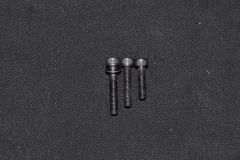 Bolt from hardware store on the left