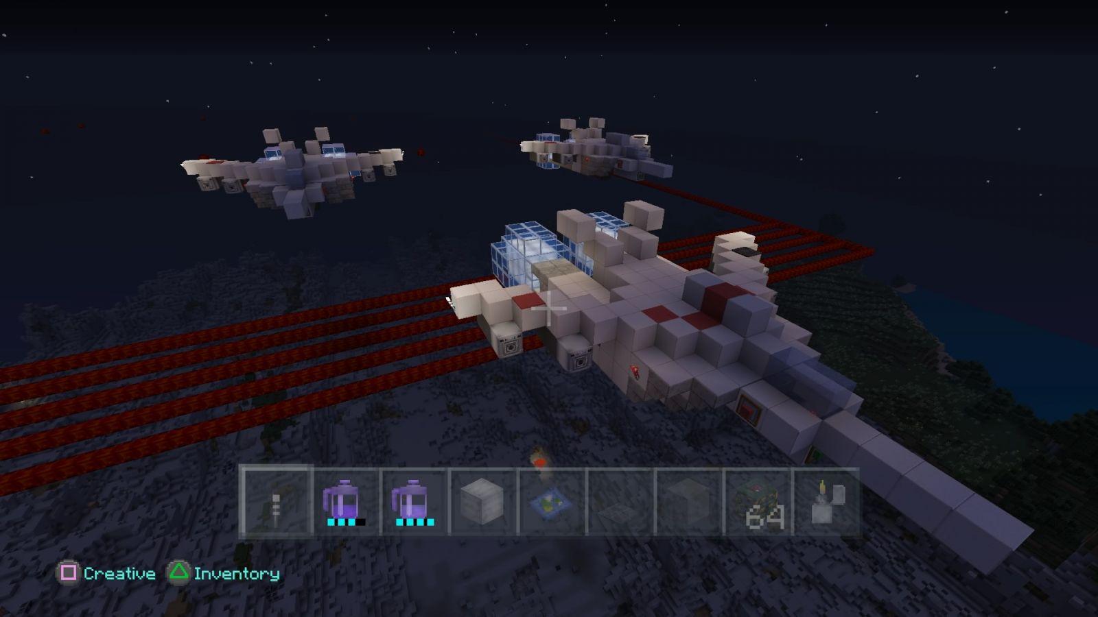 Minecraft  Macross Vermillion Squadron