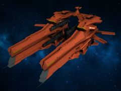 Dulfim Escort Space Carrier