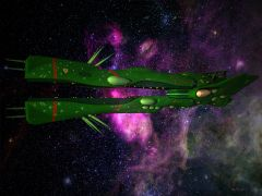 Quiltra-Quelamitz, Zentradi Medium-Scale Gun Destroyer,