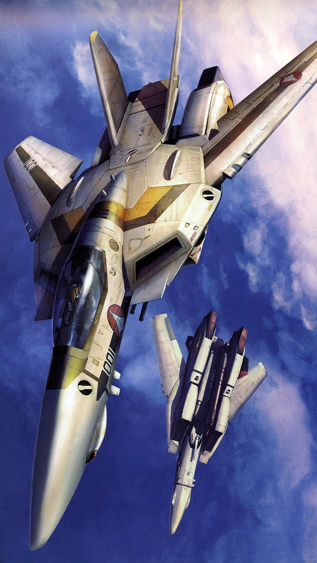 Smartphone wallpapers anime or science fiction macross - Robotech 1080p ...