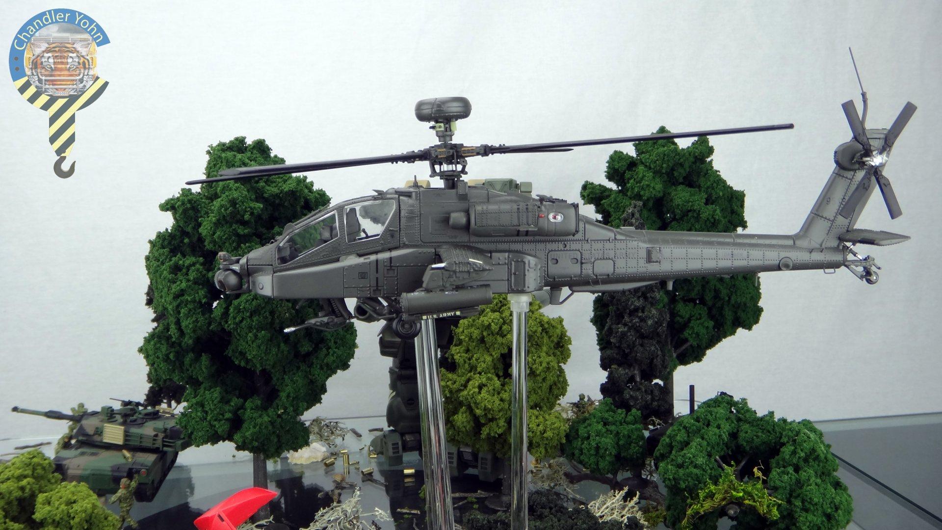 Bandai Zaentradi Glaug Crash AH64-D Apache M1 Abrams Yamato Tomahawk Destroid 17.jpg