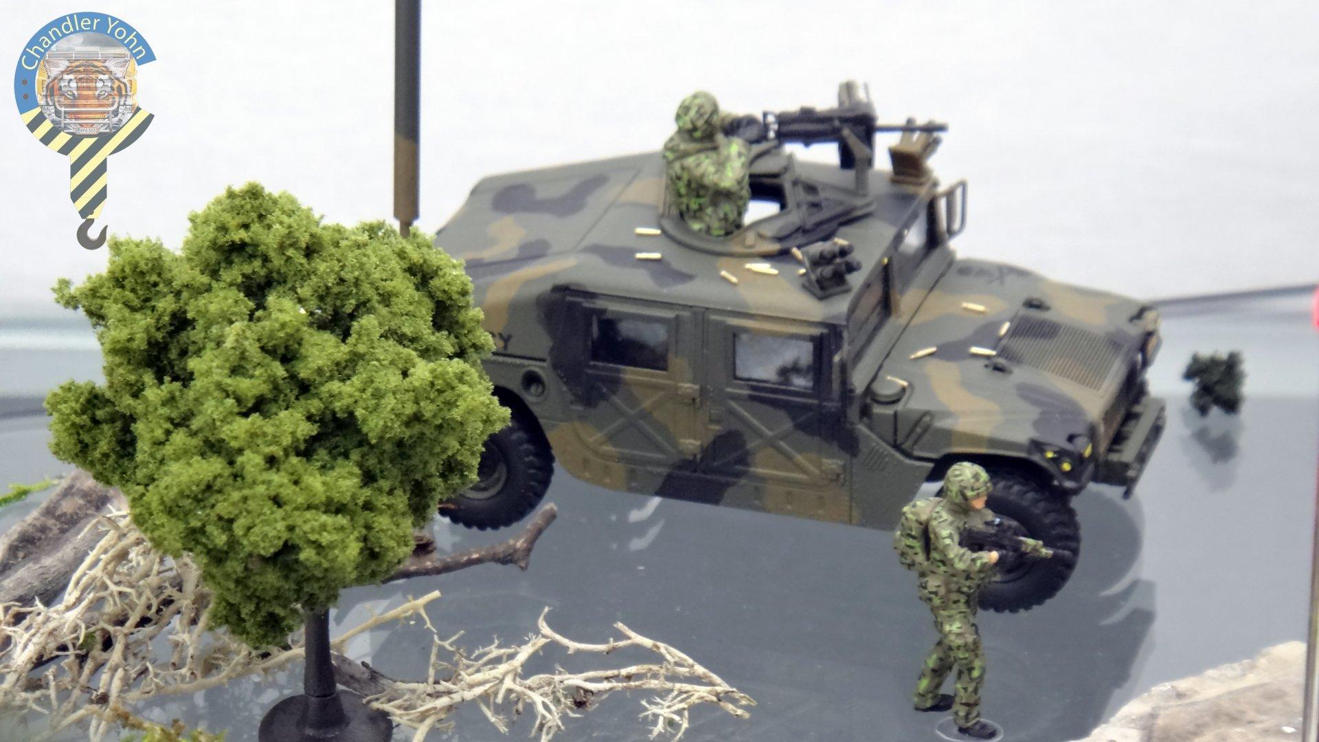 Bandai Zaentradi Glaug Crash AH64-D Apache M1 Abrams Yamato Tomahawk Destroid 21.jpg