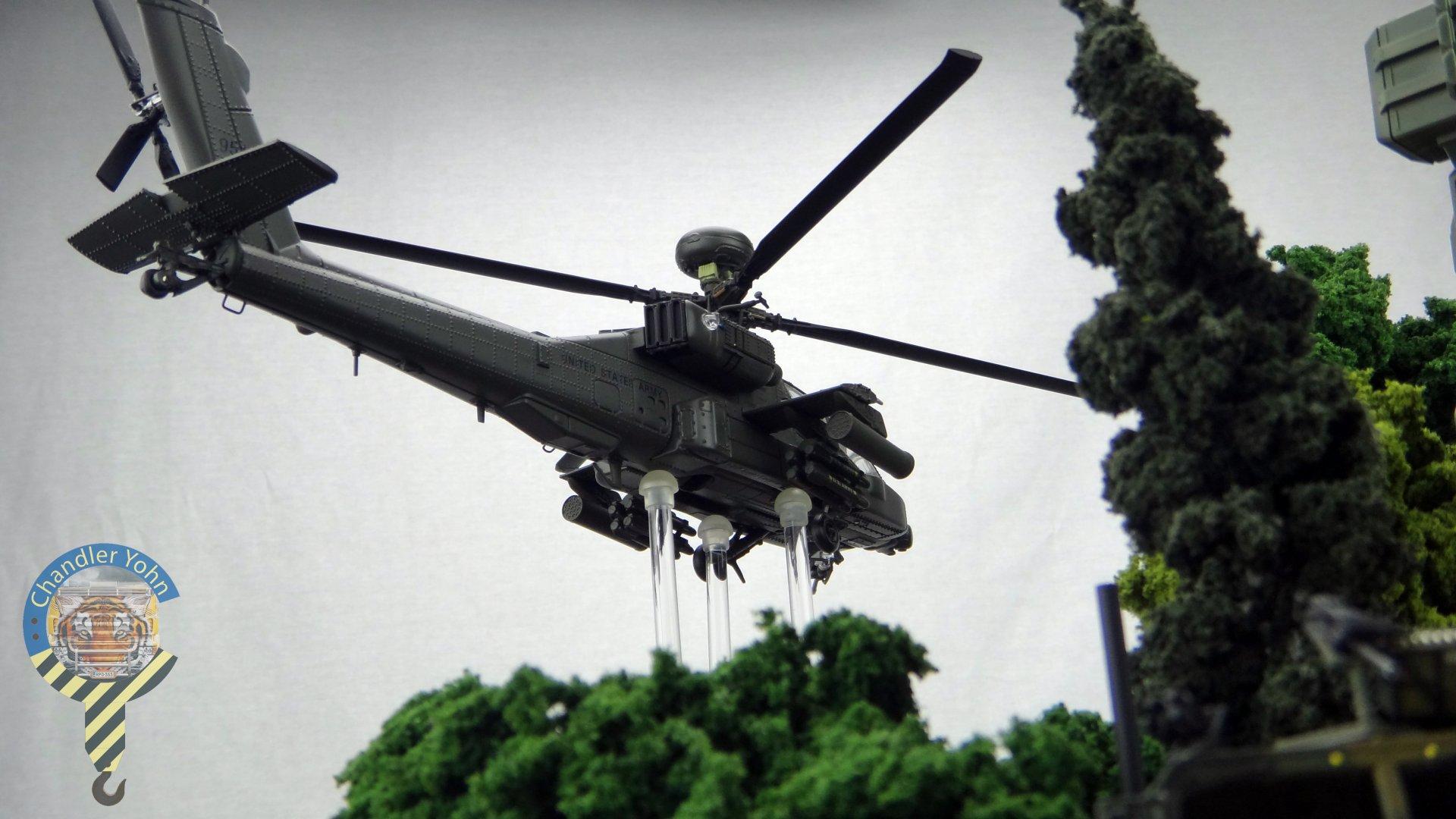 Bandai Zaentradi Glaug Crash AH64-D Apache M1 Abrams Yamato Tomahawk Destroid 31.jpg