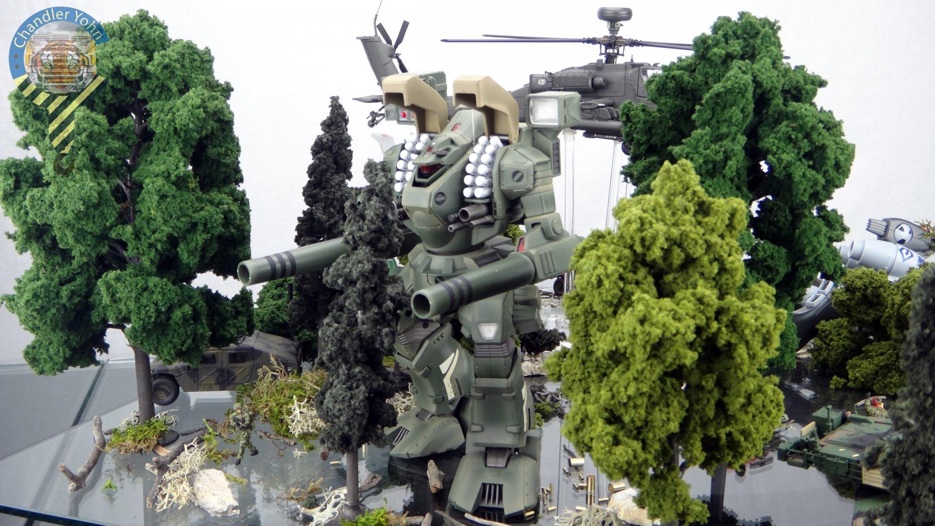 Bandai Zaentradi Glaug Crash AH64-D Apache M1 Abrams Yamato Tomahawk Destroid 32.jpg