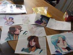 Juice14's Macross Cels and Art