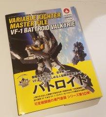 JVMacross Books - VF Master Files - VF-1 Battroid