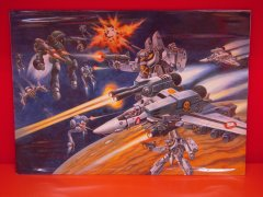 JVMacross Original Art, Setting Materials, Misc
